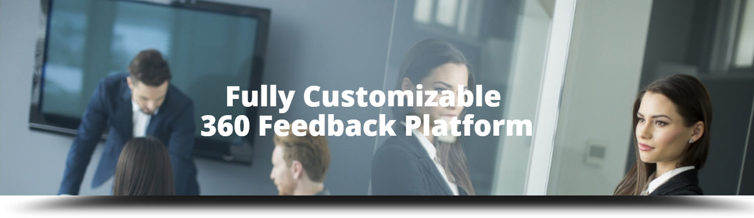 Fully customizable 360 feedback software