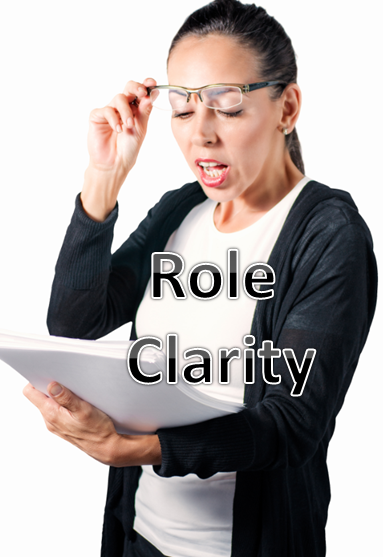 role clarity required for top performance