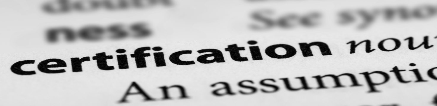 certification may not mean competence