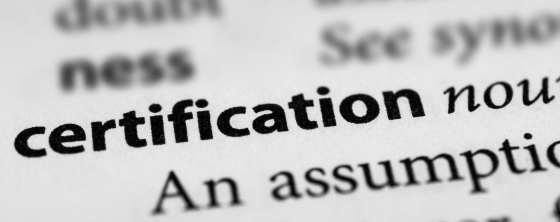 certification may not equal competence