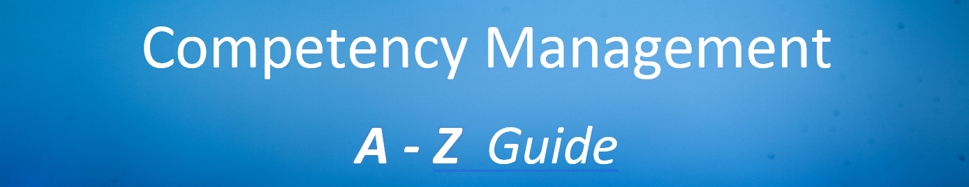 Competency Management Guide A-Z